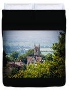 St James Church Shaftesbury Duvet Cover