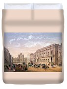 St James Palace And Conservative Club Duvet Cover