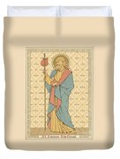 St James The Great Duvet Cover by English School