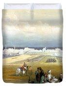 St. Jean D'acre April 24th 1839 Duvet Cover