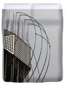 St. Joan Sculpture Vertical Duvet Cover