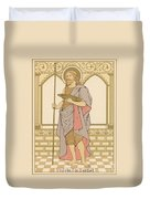 St John The Baptist Duvet Cover by English School