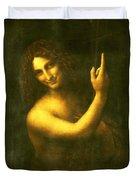 St. John The Baptist Duvet Cover