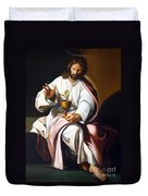 St John The Evangelist Duvet Cover