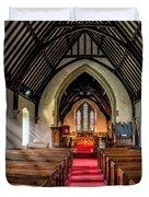 St Johns Church Duvet Cover by Adrian Evans