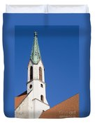 St. John's Church Riga Duvet Cover
