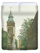 St Johns Church Wapping From Scandrett Street Duvet Cover