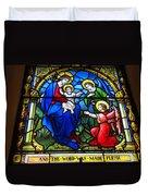 St Johns Church Wash Dc . Duvet Cover