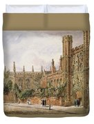 St. Johns College, Cambridge, 1843 Duvet Cover
