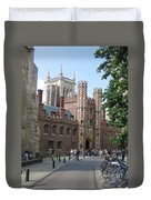 St. Johns College Cambridge Duvet Cover