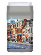 Yonge Street In Toronto Duvet Cover