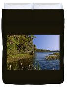 St Johns River Florida Duvet Cover