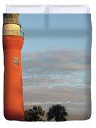 St. Johns River Lighthouse II Duvet Cover