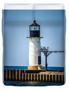 St. Joseph Outer Lighthouse Photo Duvet Cover