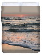 St Joseph Pastels Duvet Cover by Adam Jewell