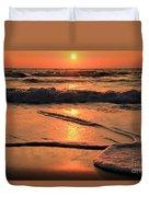 St. Joseph Sunset Swirls Duvet Cover