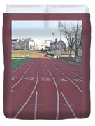 St Josephs University Track Duvet Cover
