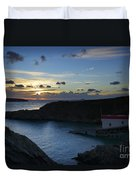 St Justinian Sunset Duvet Cover