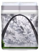 St Louis Arch Duvet Cover