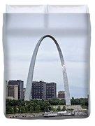 St Louis Arch Duvet Cover