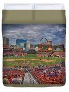 St Louis Cardinals Busch Stadium Dsc06139 Duvet Cover