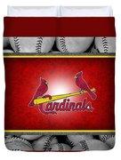 St Louis Cardinals Duvet Cover