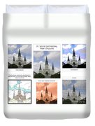 St Louis Cathedral In New Orleans Duvet Cover