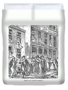 St. Louis, Missouri, 1878 Duvet Cover