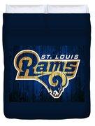 St. Louis Rams Barn Door Duvet Cover