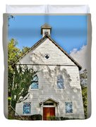 St. Luke African Methodist Episcopal Church - Ellicott City Maryland Duvet Cover