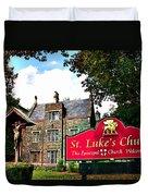 St Lukes Church Duvet Cover