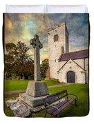 St. Marcellas Celtic Cross Duvet Cover