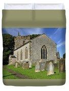 St Margaret's Church - Wetton Duvet Cover