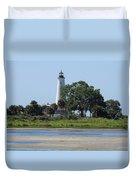 St Marks Lighthouse Duvet Cover