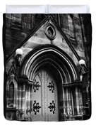 St Marys Cathedral Doors Duvet Cover