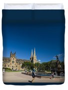 St. Mary's Cathedral Duvet Cover
