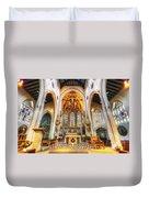 St Mary's Catholic Church - The Altar Duvet Cover