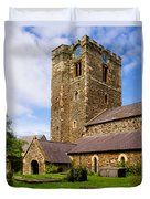 St Mary's Church Conway Duvet Cover