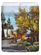 St. Marys Ukrainian Catholic Church Duvet Cover