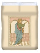 St Matthew Duvet Cover by English School