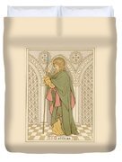 St Matthias Duvet Cover by English School
