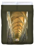 St. Maurice Cathedral In Vienne Duvet Cover
