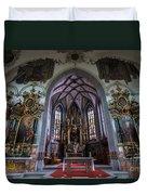 St. Maurice Church - Appenzell - Switzerland Duvet Cover