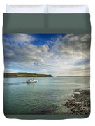 St Mawes Ferry Duchess Of Cornwall Duvet Cover