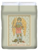St Michael And All Angels By English School Duvet Cover