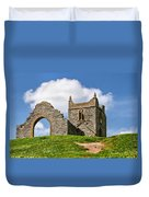 St Michael's Church - Burrow Mump 4 Duvet Cover