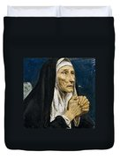 St Monica Duvet Cover