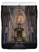 St Nicholas Church Ghent Duvet Cover