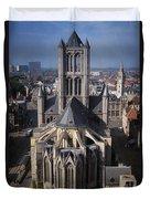 St Nicholas Church View Duvet Cover