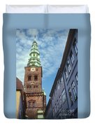 St. Nikolai Church Tower Duvet Cover